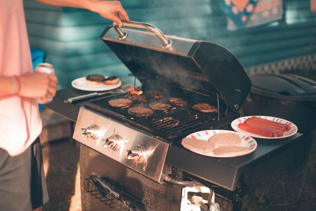 организауия барбекю и шашлыков на корпоратив, настоящие бургеры